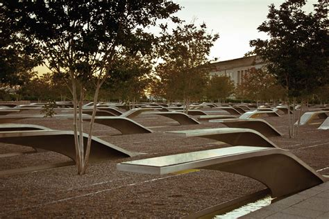 pentagon memorial benches meaning pentagon memorial typography mm branding strategic