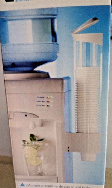 Water Dispenser With Cup Holder cup holder dispenser for all water coolers white ebay