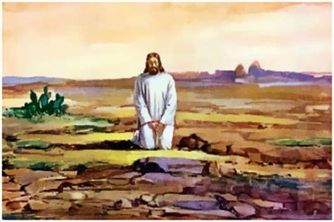 imagenes de jesus orando en el desierto miscosasyyo meditaci 243 n domingo de la semana 1 de