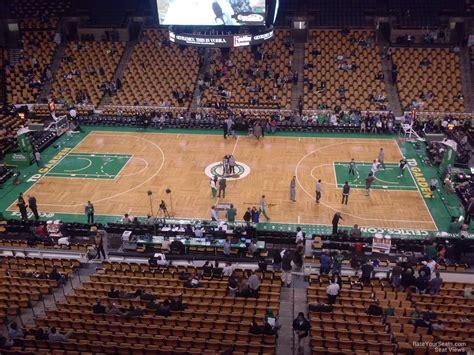 how many seats in the td garden td garden section 330 boston celtics rateyourseats
