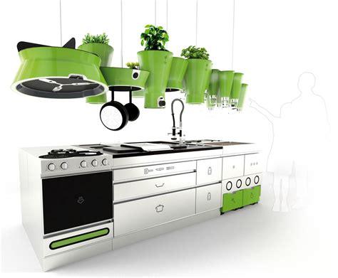Eco Friendly Futuristic Kitchen Idesignarch Interior Eco Kitchen Design
