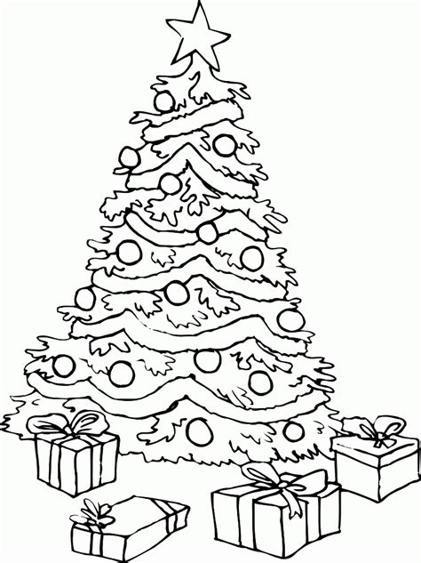 christmas tree coloring page for toddlers coloring pages christmas tree animebgx