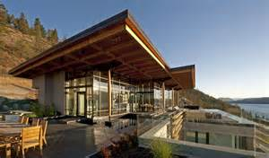 Home Design Courses Bc by Kelowna Contemporary House On Okanagan Lake Idesignarch