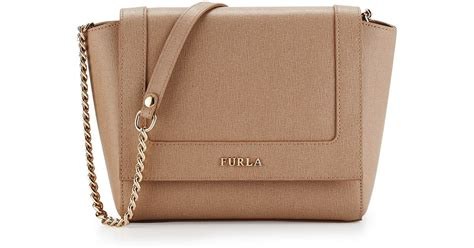 furla ginerva mini leather crossbody bag in lyst