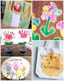 mother s day handprint crafts gift ideas for kids to make crafty morning