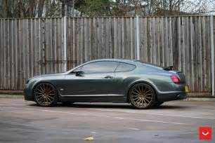 Bentley Supersports Bentley Continental Gt Supersports Struts Its New Shoes
