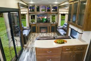 Stainless Steel Top Kitchen Island the 2015 solitude 375 re fifth wheel wins best in show