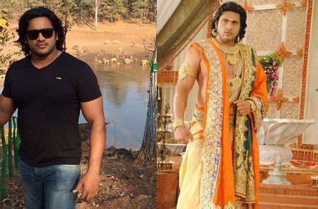 film seri mahabharata foto saurav gurjar sebagai bima seperti tubuhnya yang