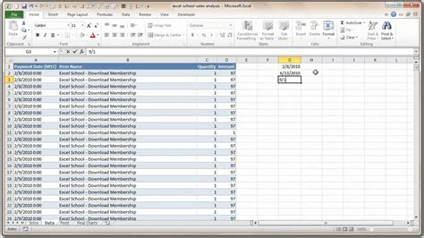 sle of data analysis report how to analyze sales data with excel