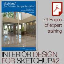 interior design books for beginners sketchup for interior design revisited course 2