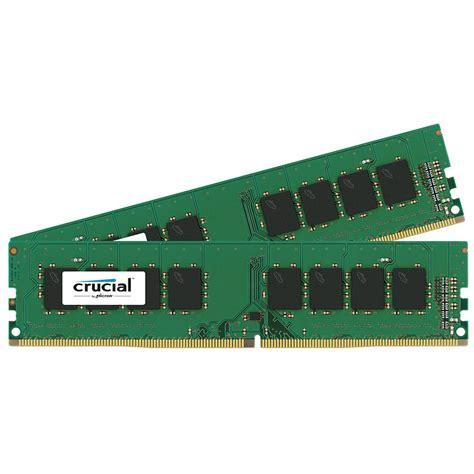 Ram Crucial 4gb crucial 16gb ddr4 2133 mhz udimm memory kit ct2k8g4dfd8213 b h