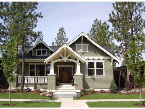 Craftsman Style Single Story House Plans Usually Include House Plans With Wide Front Porch