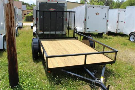 Hardwood Trailer Flooring by 2016 Other Horton Landscaping Trailer With Wood Flooring