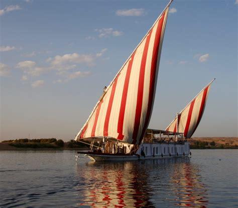 boat trip up the nile sailing the nile aboard a traditional dahabiya boat