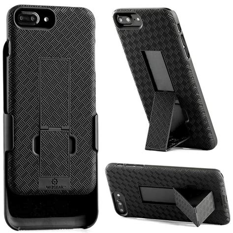 wizgear shell holster combo for apple iphone 7 8 plus with kick s wizgear