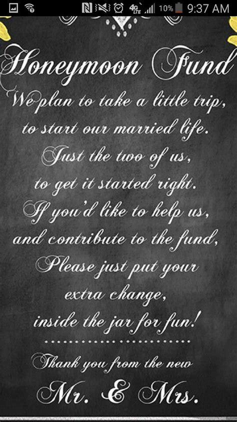 Wedding Registry Honeymoon Fund by Honeymoon Fund Bridal Shower Ideas