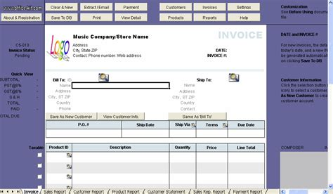invoice template band rabitah net