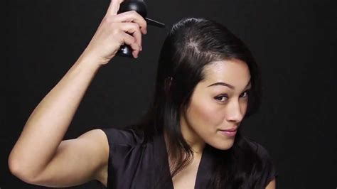 hairstyles for thin hair to make it look thicker make thin hair look thick in seconds youtube