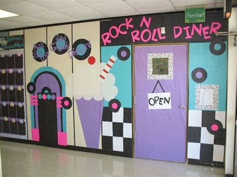 High School Hallway Decorating Ideas by 25 Best Ideas About 50s Decorations On