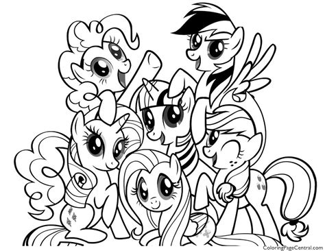 my little pony coloring pages friendship is magic luna my little pony friendship is magic 01 coloring page