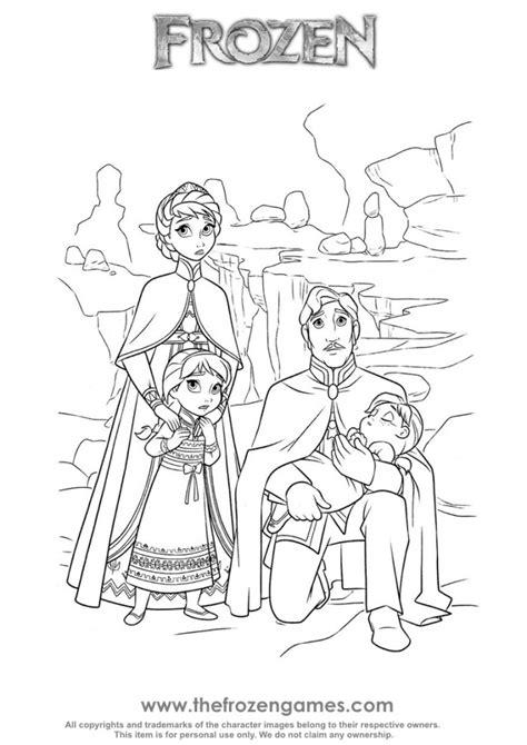 frozen royal family frozen games