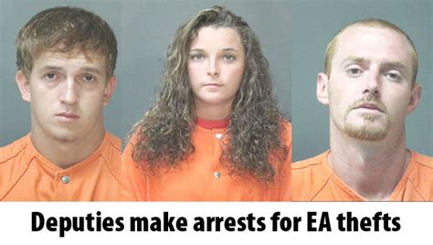 Escambia County Sheriff Department Arrest Records Deputies Make Arrests In Escambia Academy Thefts The Atmore Advance