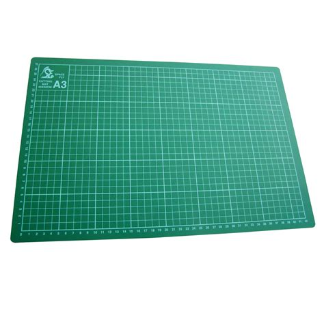 Cutting Self Healing Placemat A3 Size Tatakan Potong Gr Murah non slip cutting mat self healing printed grid craft design sizes a1 a2 a3