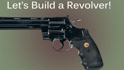 how to gun a how to make a prop revolver pistol