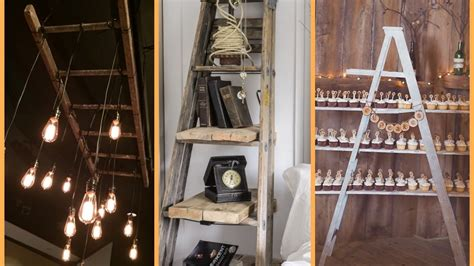 home decor ladder diy ladder repurpose ideas recycled home decor
