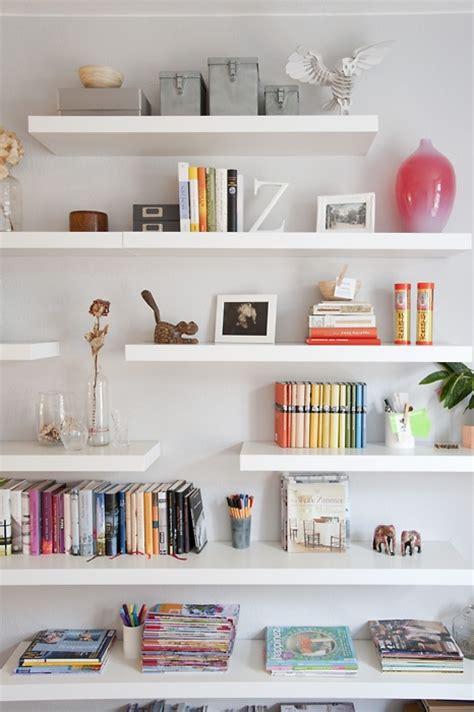 In Wall Shelves Simple Details Ikea Lack Floating Shelf
