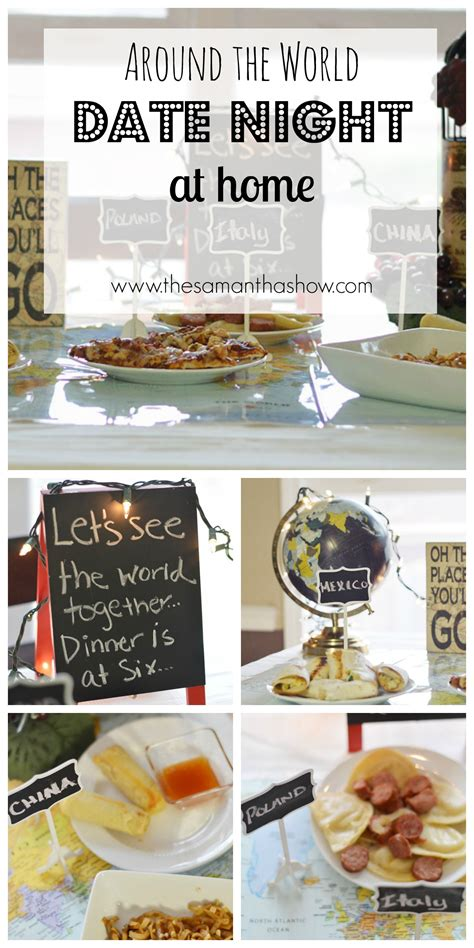 Date Zu Hause by Around The World Date At Home The Show