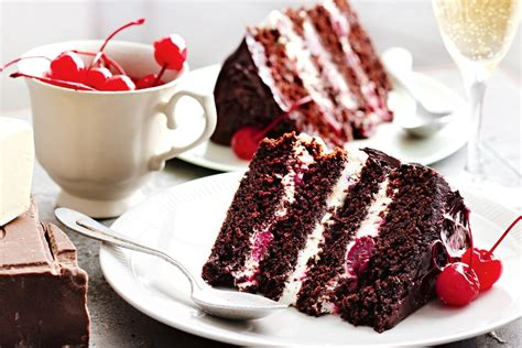 Cheap Way To Decorate Home by Black Forest Cake Recipes Delicious Com Au