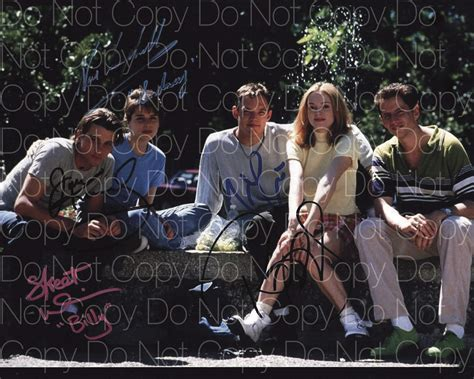 Skeet Ulrich Autograph Signed Photo by Scream Signed Skeet Ulrich Neve Cbell Matthew Lillard