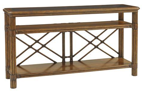 tommy bahama sofa table tommy bahama home bali hai islander console table