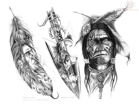 north american tribal tattoos indian tribal tattoos american