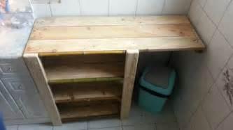 meuble de salle de bain creation palette