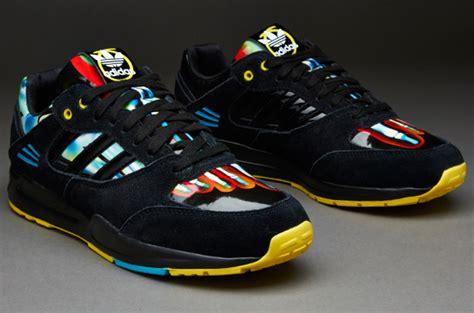 Adidas Cloudfoam Saturn Shoes Black Original adidas originals tech trainers