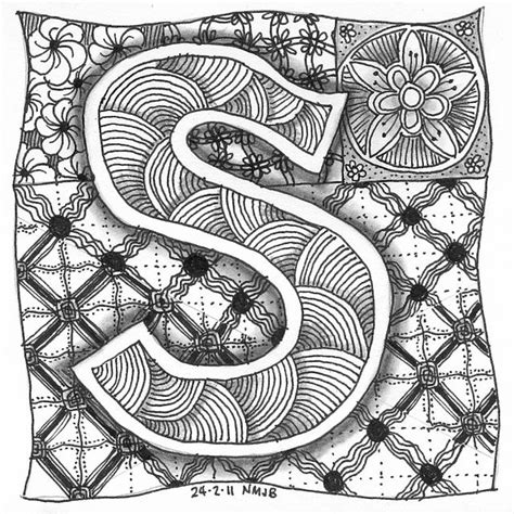 zentangle pattern letters 202 best zentangle letters images on pinterest doodles