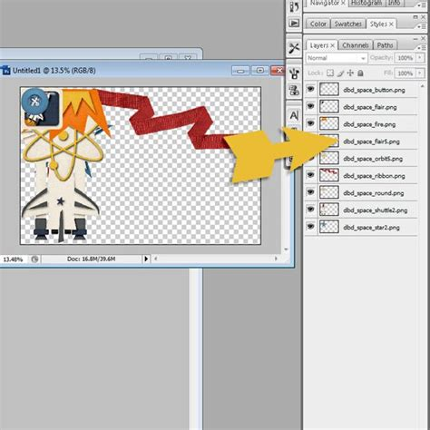 tutorial for scrapbook techniques scrapping with liz photoshop quick tip loading files