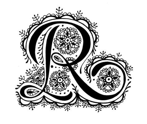 Modele De Lettre En Tatouage Tatouages Lettres Mod 232 Les De Tatouages 224 Base De Lettres
