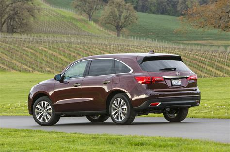 first acura 2014 acura mdx first drive motor trend