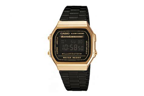 Casio A 168 casio vintage retro a168 black gold a168wegb 1bdf buy