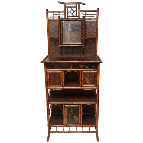 etagere in englisch 19th bamboo etagere for sale at 1stdibs
