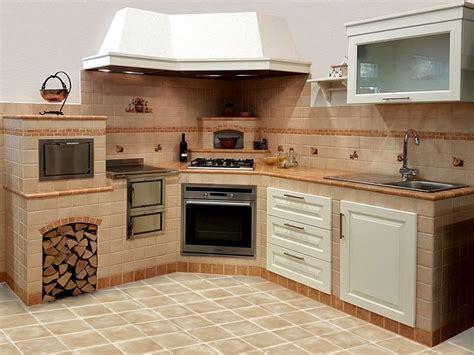 cucina muratura progetto cucina in muratura rustica cucina costruire cucina in