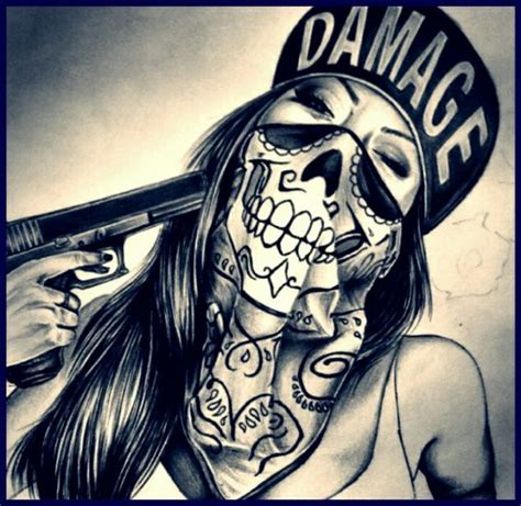 mexican chicano art tattoos