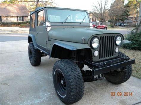Jeep Cj Mods Purchase Used 1976 Jeep Cj7 Cj 7 Frame Resto Mod In