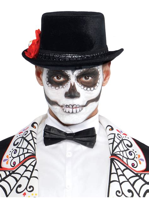 adult day of the dead top hat 843923 55 fancy dress ball