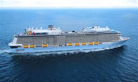 royal caribbeans newest ship four new ships for royal caribbean international cruise