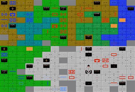 legend of zelda nes map grid hyrule blog the zelda blog hyrule warriors ideas for
