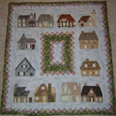 quilt pattern house block house quilt block quilt block patterns sewing quilt